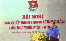 共青團中央第一書記黎國鋒(圖片來源:doanthanhnien.vn)