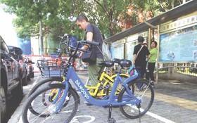 共享單車電子圍欄上線(圖片來源:互聯網)