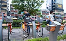 研究共享自行車模式。(示意圖源:互聯網。)