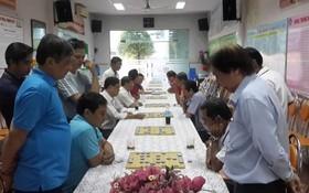 正義小學昨(3)日在該校舉辦2018年慶黨迎春象棋比賽。