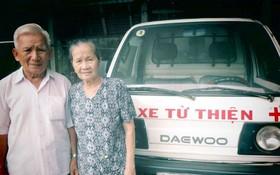 武文巡大伯與妻子范氏孟攜手為慈善工作出力。