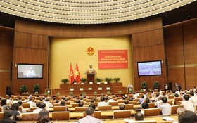 第十二屆黨中央書記處昨(29)日在河內主會場與全國63省市分會場舉行全國幹部學習和貫徹黨十二屆七中全會決議的視頻會議。