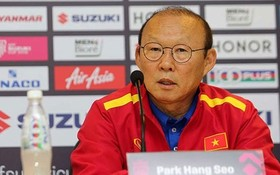 韓籍主教練朴恒緒。