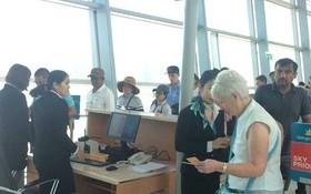 富國國際航空港迎接大量國內和國際乘客。