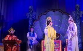 粵劇演出一幕。