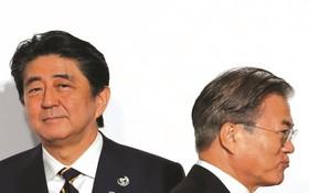 日韓關係處在歷史冰點。