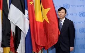 越南駐聯合國常值代表團團長鄧廷貴大使