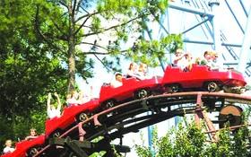 仙泉文化旅遊區春節期間吸引眾多國內外遊客。