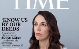 新西蘭總理登《時代》週刊封面