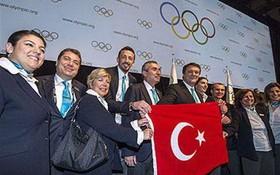 伊斯坦布爾申辦二○三二奧運。