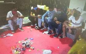 14 吸毒青年受懲處