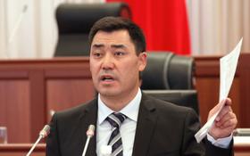 圖為薩德爾·扎帕羅夫2017年7月在議會會議上演講的資料照片。 (新華社發)