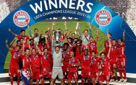 拜仁慕尼克第六次奪得歐冠冠軍。