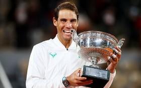 納達爾第十三次奪得法網男單冠軍。