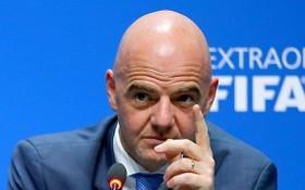 國際足球聯合會主席詹尼‧因凡蒂諾。