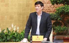 衛生部長阮清隆 (圖源:TTXVN)