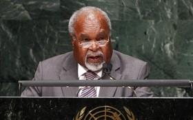 巴布亞新幾內亞獨立國原總理邁克爾‧索馬雷