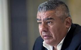 阿根廷足球協會主席克勞迪奧‧塔皮亞。