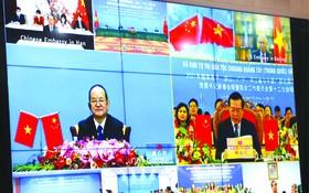 昨(9)日,高平省委主持2021年越南高平、諒山、廣寧、河江等四省省委書記與中國廣西壯族自治區黨委書記新春會晤。