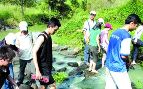 年輕人喜愛探索生態環境活動。