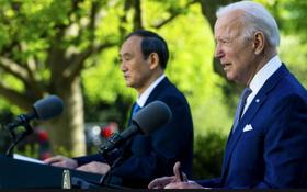 日美首腦會談強調同盟關係