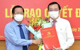 市委常務副書記潘文邁已把市委常務處《決定》轉授給黎鴻山同志。