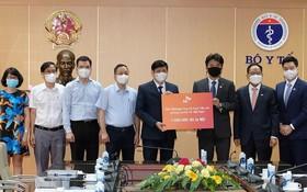 韓國集團向疫苗基金捐款 100 萬美元