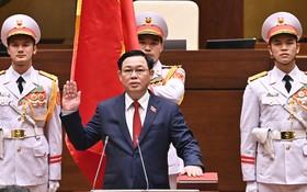 黨中央政治局委員、第十四屆國會主席王廷惠