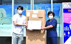 華人企業家、明隆陶瓷公司總經理李玉明昨(13)日告知,該公司日前向平陽省順安市醫療中心捐贈醫療設備。