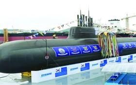 """""""島山安昌浩""""號是張保皋III級第一批次首艇。"""