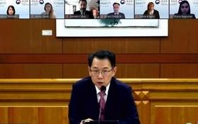 """聯合國反恐辦公室和韓國外交部15日召開""""疫情防控邊境安全管理典範專家會議"""",並共用韓國邊境管理事例。"""