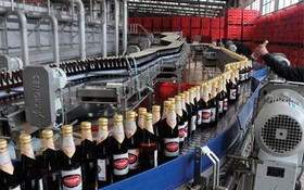 Sabeco啤酒生產線一瞥。(示意圖來源:互聯網))
