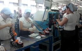越南寶元公司從事加工運動鞋。