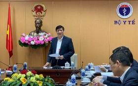 阮清隆部長在會上發表。