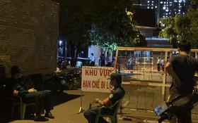職能部門當晚封鎖患者的居住區域。