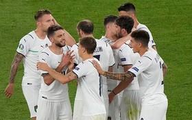 意大利球隊慶祝進球(图源:互联网)