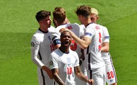 英格蘭球隊慶祝進球(圖源:互聯網)