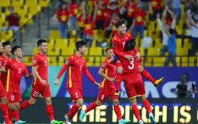 越南球員慶祝進球(圖源:互聯網)