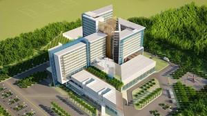 An artist's impression of Cu Chi Hospital (Photo: SGGP)