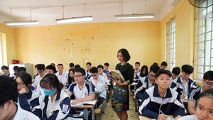 Vietnam pilots teaching German, Korean in high schools (Photo: SGGP)