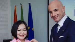 Vietnamese fashion designer becomes ambassador for Italian cuisine