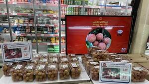 Vietnamese lychees sold at US$22 per kilogram in Paris