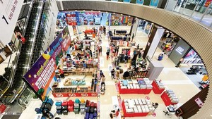 Aeon Mall in Binh Tan District (Photo: SGGP)