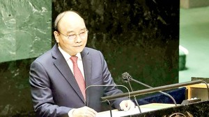 President raises proposals at UNSC's high-level open debate on climate security