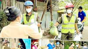 Social security maintenance tasks are put at the top priority to support vulnerable people in HCMC during the pandemic. (Photo: SGGP)