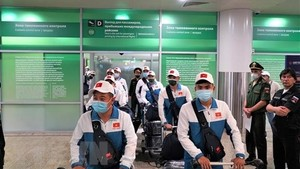 Vietnam's army team arrives in Russia for International Army Games