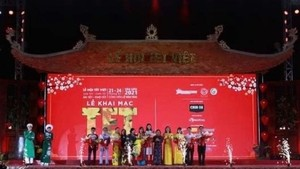 Tet Festival 2021 opens in HCMC. (Photo: VNA)