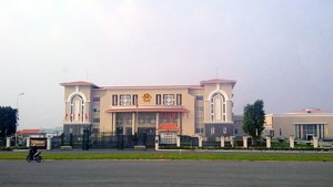 The headquarters of the Party Committee and the People Committee of District 2 at No.168 on Truong Van Bang Street, Thanh My Loi Ward, District 2