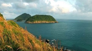 A view of the sea off Con Dao Island (Photo: VNA)