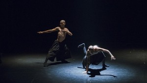 A scene in the dance performance